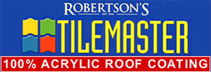Robertson's Tile Master - Acrylic Roof Coating - Coast and Country Roof Coatings