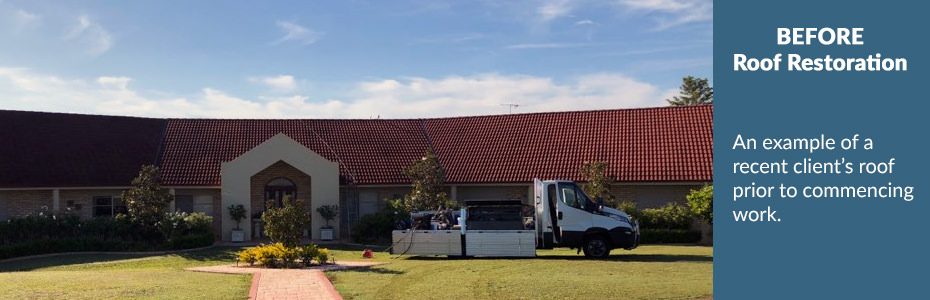 Coast & Country Roof Coatings - BEFORE Roof Restoration | Hunter Valley, Port Stephens & Newcastle